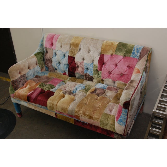Multicolor Timothy Oulton Loveseat - Image 6 of 7