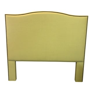 New Legacy Christopher Upholstered Headboard, a Queen For Sale