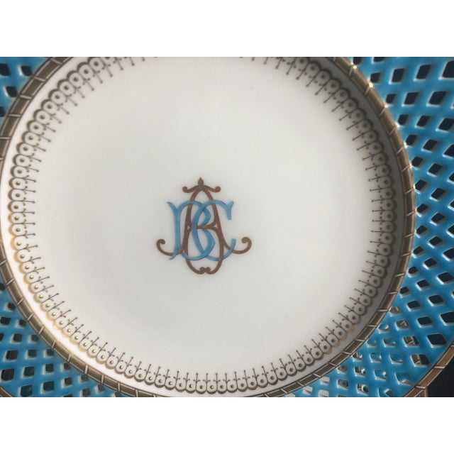 Late 19th Century Mintons Presentation Plates for Thomas Goode & Co. - Set of 10 For Sale - Image 10 of 13