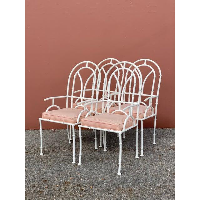 Kessler Industries Vintage MCM Kessler Cast Aluminum Dining Chairs - Set of 4 For Sale - Image 4 of 7