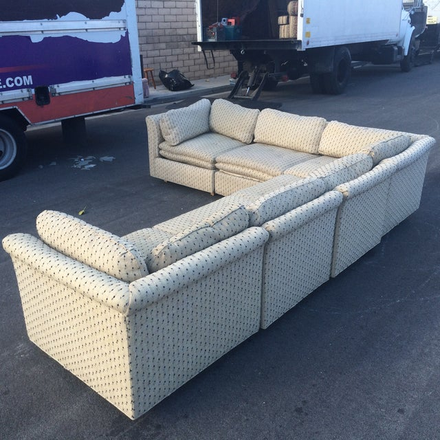 Sherrill Furniture Contemporary Six-Part Sectional - Image 9 of 10