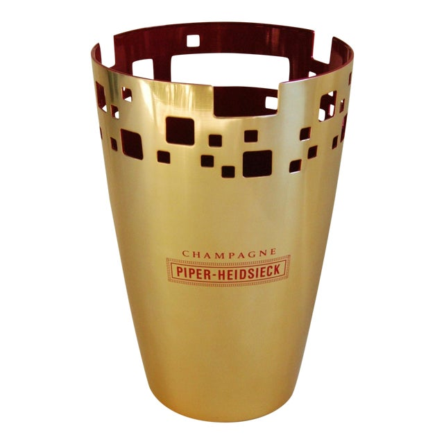 Piper-Heidsieck Champagne Bucket Chiller For Sale