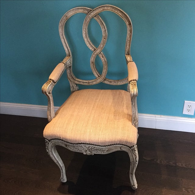 Shabby Chic Horchow Ethan Accent Chairs - 2 For Sale - Image 3 of 4