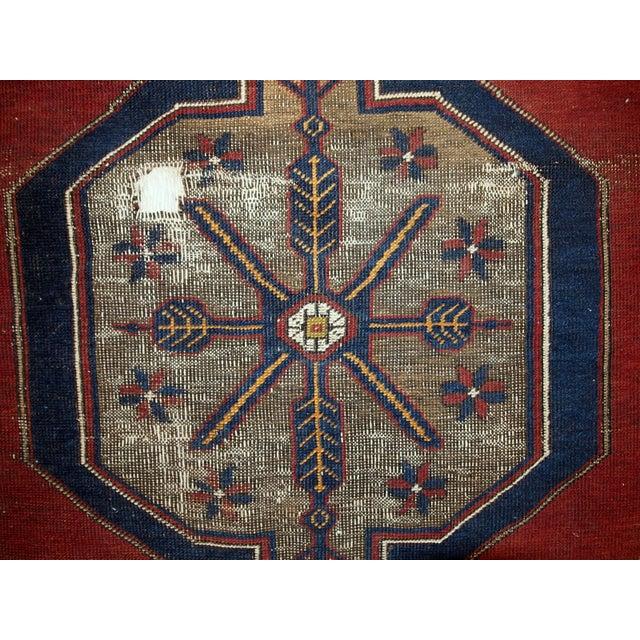 Antique Turkish Anatolian Rug - 4′1″ × 9′1″ - Image 6 of 10