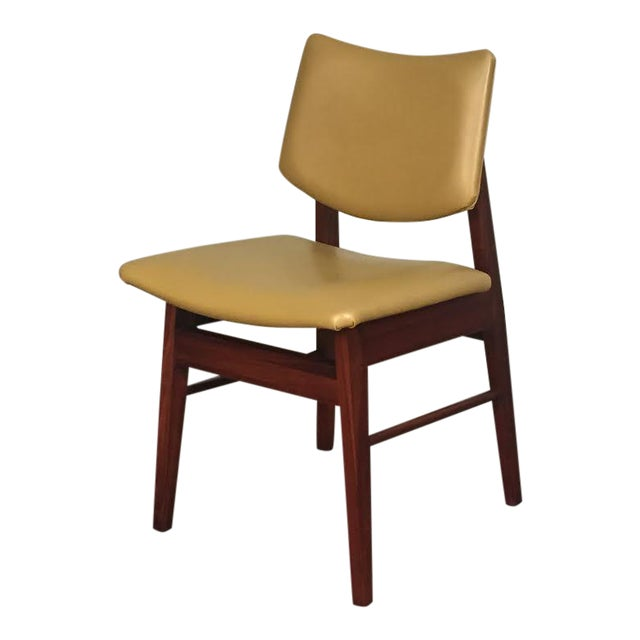 Jens Risom Style Mid-Century Modern Desk Chair - Image 1 of 8