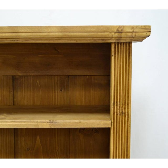 Antique Pine Bookcase With Drawer For Sale In Washington DC - Image 6 of 7