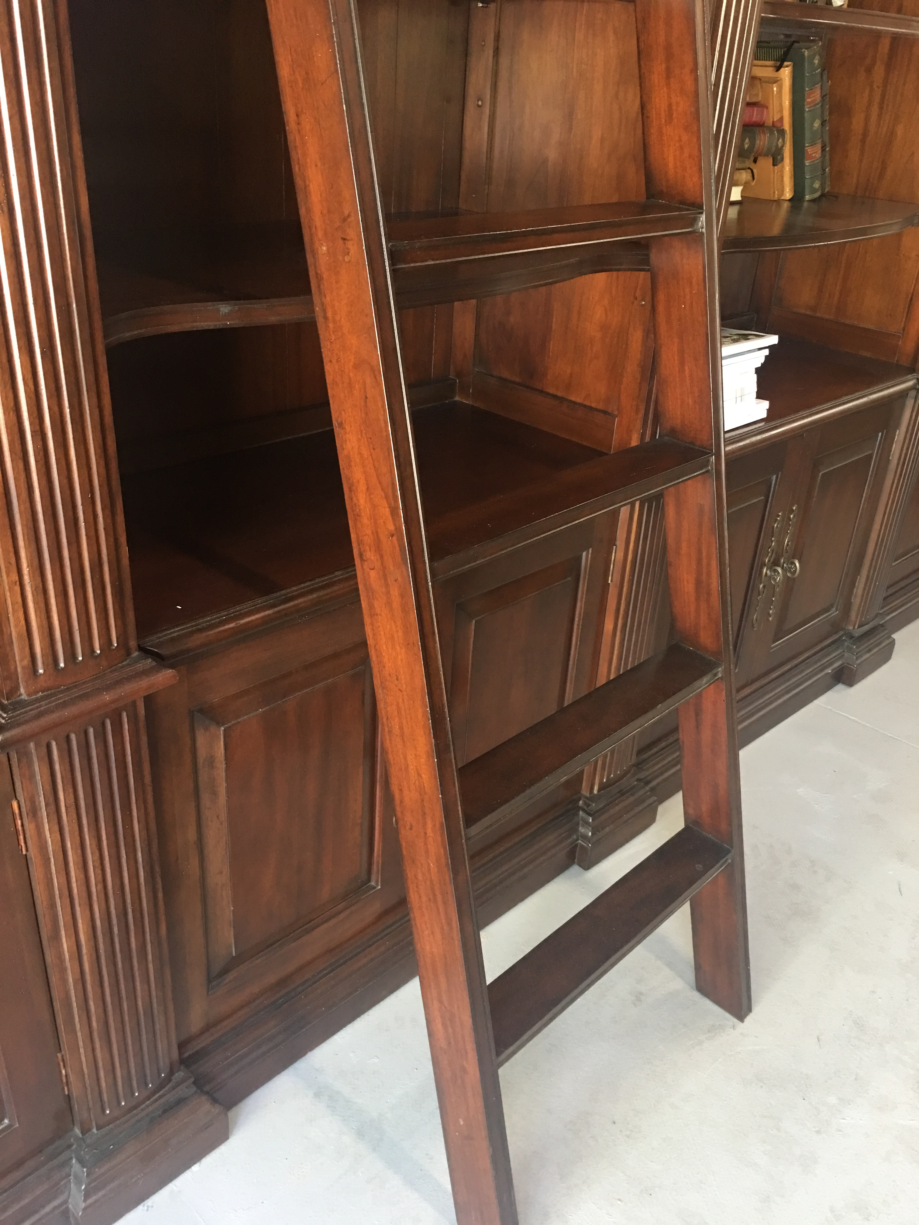 French Heritage Bordeaux Library 4 Unit System U0026 Ladder   Image 2 Of 12