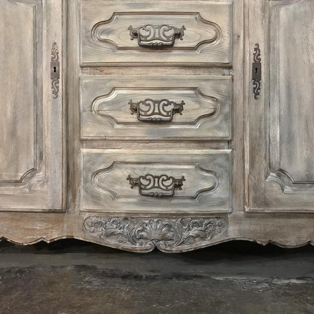 19th Century Country French Normandy Painted Buffet For Sale - Image 10 of 13