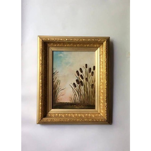 Antique American Landscape Painting - Image 6 of 6
