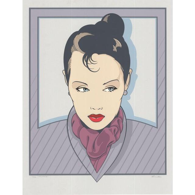 Henry Schmidt-Marguerite-Serigraph-SIGNED For Sale