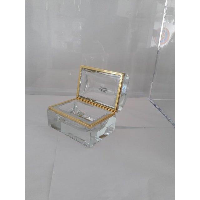 Vintage Murano Glass Box- Mandruzzato For Sale In West Palm - Image 6 of 11