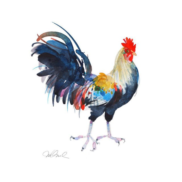 Le Coq, Premium Giclee Print. For Sale