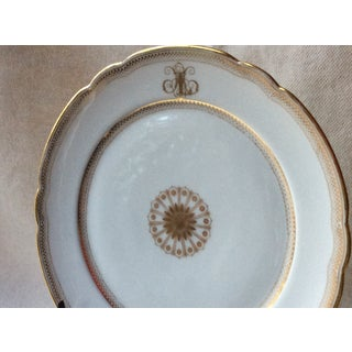 1900s French Porcelain Dessert Plates - 5 Pieces Preview