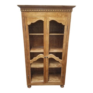 Vintage Amp Used French Country China And Display Cabinets