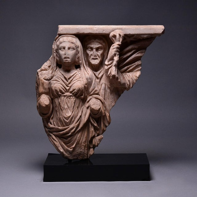Relief from a Mythological Sarcophagus For Sale - Image 4 of 4