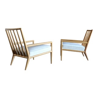 T.H. Robsjohn-Gibbings Lounge Chairs for Widdicomb, Circa 1955 - a Pair For Sale
