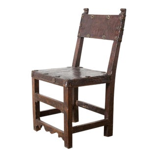 Vintage Spanish Chair For Sale