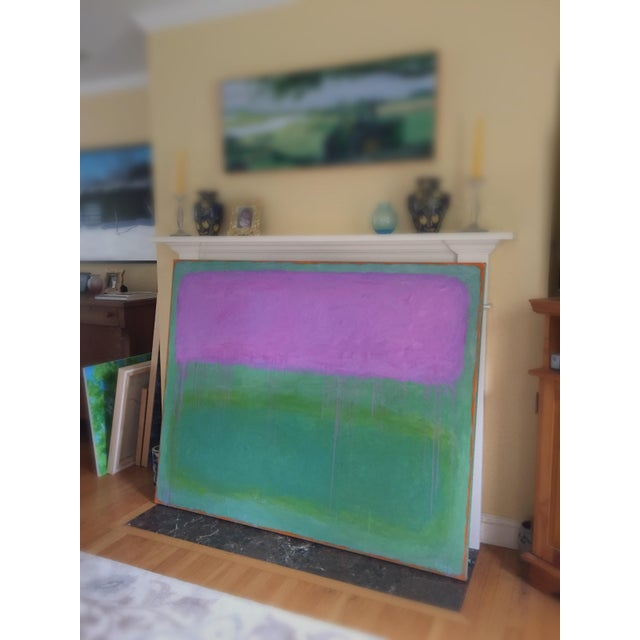 """Contemporary Abstract Painting """"Weeping Cherry"""" by Stephen Remick For Sale - Image 12 of 13"""