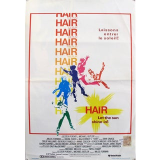 1979 Original Movie Poster, Hair (Belgian Release) For Sale