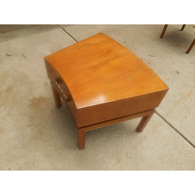 Mod Floating Butcher Block Table For Sale - Image 5 of 9