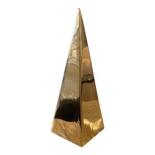 Jaru Gold Obelisk For Sale