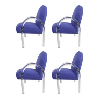 Pace Collection Waterfall Dining Chairs - Set of 4 For Sale