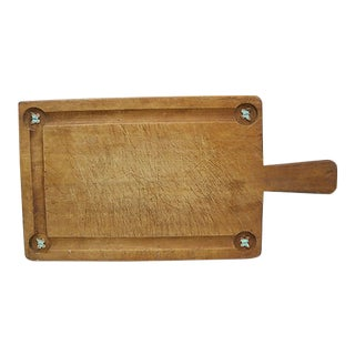 Vintage French Cheese Board For Sale