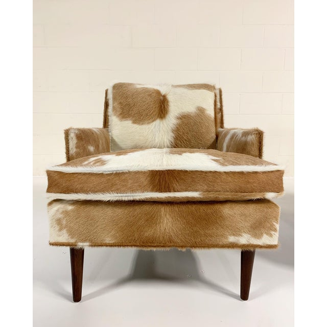 Flair Inc. Lounge Chairs Restored in Brazilian Cowhide - Pair For Sale In Saint Louis - Image 6 of 10