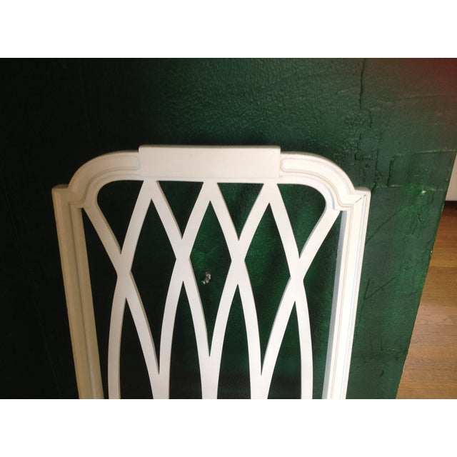 Vintage Painted Side Chair - Image 5 of 5