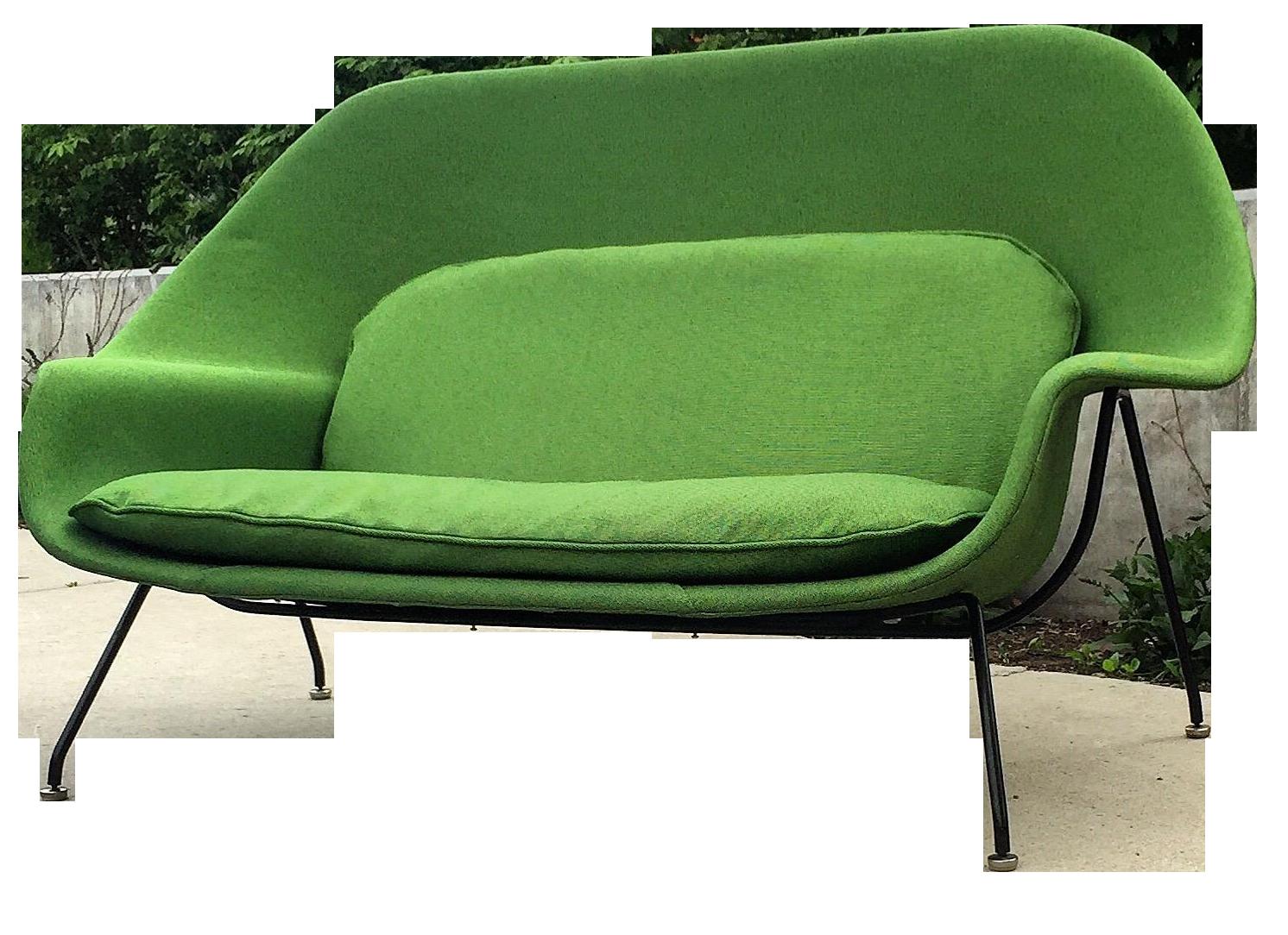 Genial Vintage Eero Saarinen For Knoll Womb Settee Sofa
