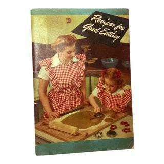 """Vintage Crisco Cook Book """"Recipes for Good Eating"""", 1945 For Sale"""