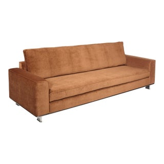 Modern Brown Sofa For Sale