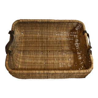 Boho Chic Waterworks Large Basket For Sale