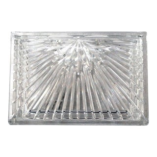 1990s Vintage Waterford Crystal Millennium Keepsake / Jewelry Box For Sale