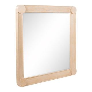 Manila Mirror - Large in Natural Oak For Sale