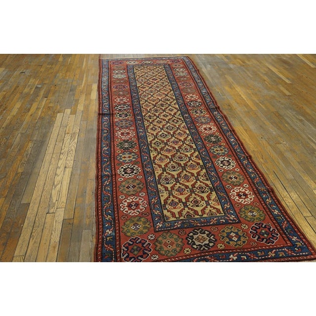 Persian Late 19th Century Antique Persian Rug For Sale - Image 3 of 7