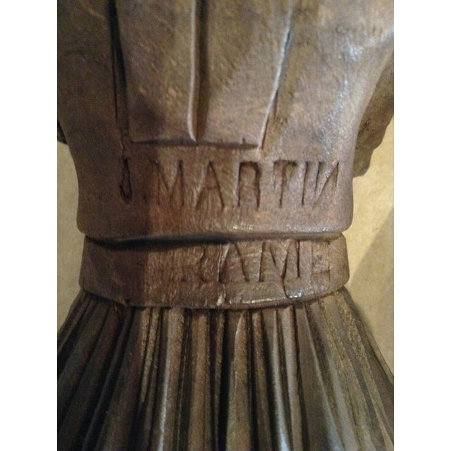Antique J. Martin Rennes Candle and Matchstick Holders - A Pair For Sale - Image 10 of 10