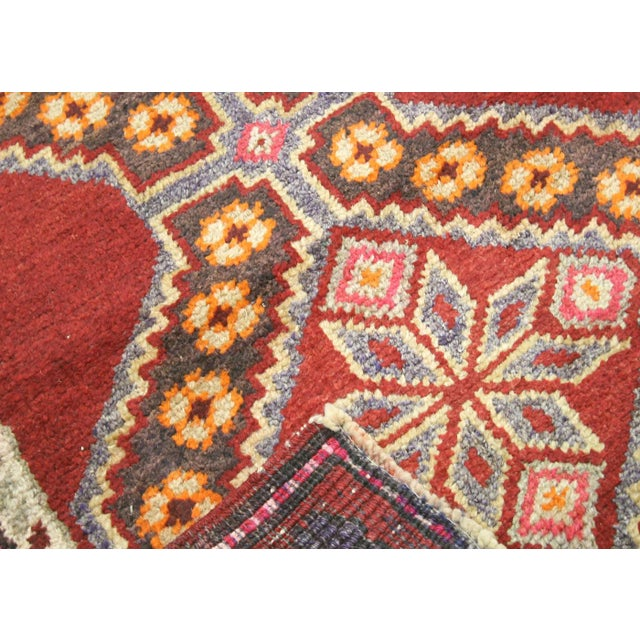 """Nalbandian - 1960s Turkish Oushak Runner - 2'7"""" X 12'9"""" For Sale In Los Angeles - Image 6 of 7"""