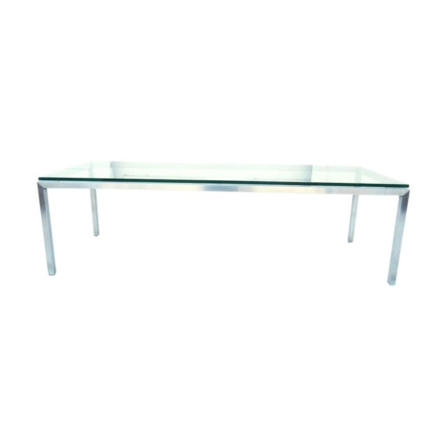 Modern Glass Coffee Table - Image 1 of 4