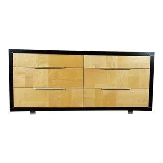Modern 6-Drawer Wooden Dresser