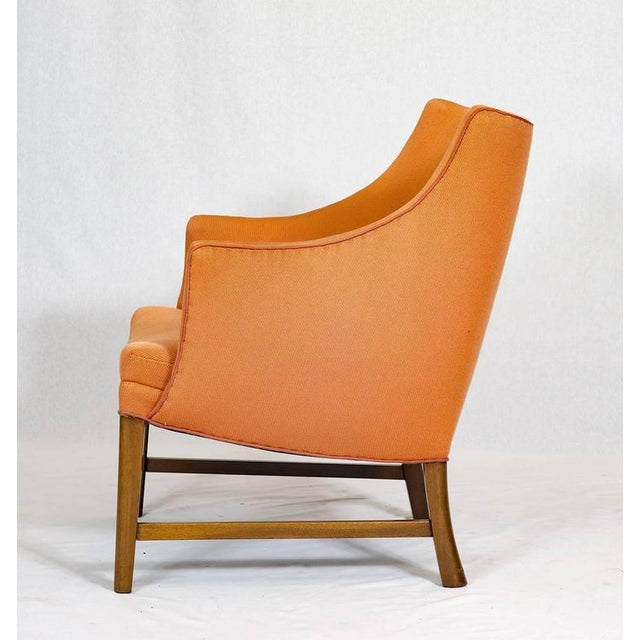 Frits Henningsen Frits Henningsen Lounge Chair For Sale - Image 4 of 9