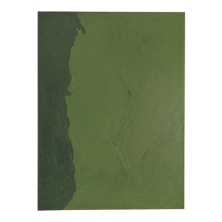 """""""Kelp"""" Contemporary Minimalist Mixed-Media Painting For Sale"""