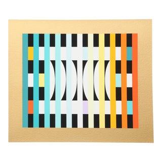 Yaacov Agam, Counter Rhythm 6 Silkscreen For Sale