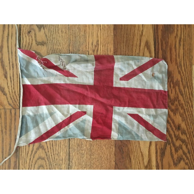 Linen Vintage Union Jack Bunting For Sale - Image 7 of 8