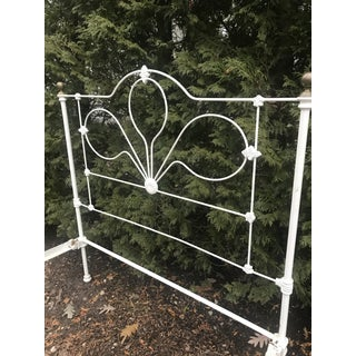 20th Century Early American Wrought Iron Bed Preview