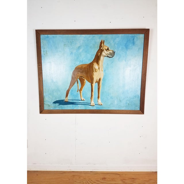 Great Dane Acrylic Painting - Image 2 of 5