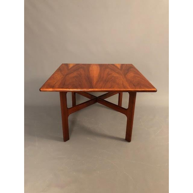 Brown D.Mcguire Mid-Century Walnut Coffee Table For Sale - Image 8 of 8