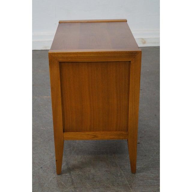 Mid-Century Modern Basic Witz Mid-Century Modern Walnut Nightstand For Sale - Image 3 of 10