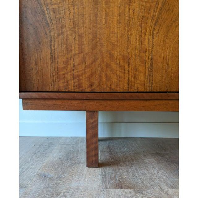 Brown 1960's Dyrlund Teak 3-Door Credenza/Sideboard For Sale - Image 8 of 13