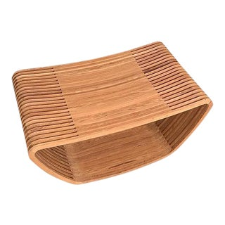 Cappellini Teak Hula Stool For Sale